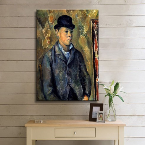 Cezanne Paul  Portrait of Paul Cezanne Son KANVAS TABLO