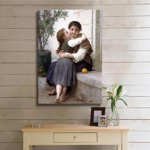 Bouguereau Adolphe William Kanvas Tablo