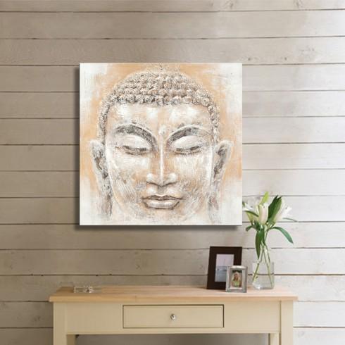 Buda İnsan Yaşam Kanvas Tablo