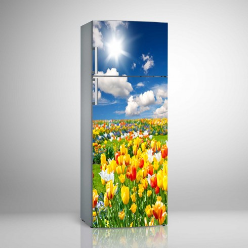 Buzdolabı Sticker Lalezar Beyaz Eşya Sticker